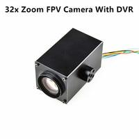 Happymodel HC700R 32x Zoom Camera 1080P with DVR 64G SD Card Holder AV Signal Output Camera for RC FPV Racing Quadcopter