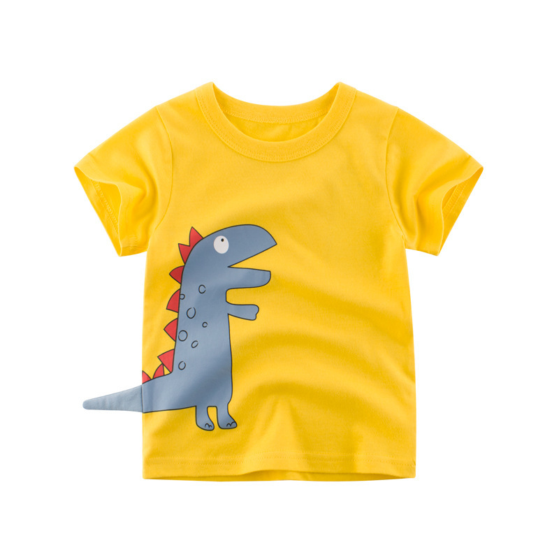 Children's Short Sleeved T-shirt Children's Clothes Children's Clothing Summer 2019 Western Style BOY'S Top Baby's T-shirts