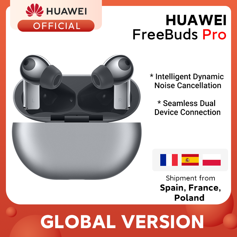 In Stock Global Version HUAWEI Freebuds Pro Smartearphone Qi Wireless Charge ANC Function For Mate 40 Pro P30 Pro|Phone Earphones & Headphones| - AliExpress