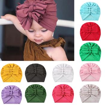 Noworodek czapka dla niemowląt miękka elastyczna bawełna noworodek dziewczynka kapelusz akcesoria dla dzieci maluch dzieci baby Boy dziewczyna czapka typu beanie tanie i dobre opinie CN (pochodzenie) Poliester Adjustable 0-3 miesięcy 4-6 miesięcy 7-9 miesięcy 10-12 miesięcy 13-18 miesięcy 19-24 miesięcy