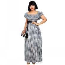 S-5XL Plus Size African Dresses For Women 2021 Africa Clothes Dashiki Grand Bubu Robe Africaine Femme Bazin Party Africa Dress