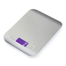 5Kg / 1g Scale LCD Digital Kitchen Scale Stainless Steel Food Weighing Scale Electronic Balance Weight Measuring 200g electronic balance measuring scale balance with lcd counting and weight balance 0 1g scale