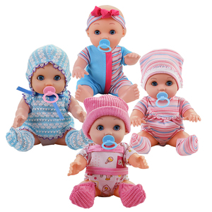 10 inch Lifelike reborn Baby Dolls Alive Fun Educational Toys Birthday Gift Dolls for Kids Children Toys Baby Doll Toys for Girl
