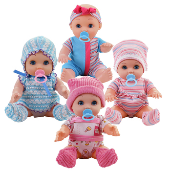 10 inch Lifelike reborn Baby Dolls Alive Fun Educational Toys Birthday Gift Dolls for Kids Children Toys Baby Doll Toys the latest 22 55cm silicone reborn baby dolls best gift 100 safe and lifelike simulation baby dolls newborn for kid brinquedos