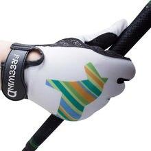 Cavassion Equestrain-guantes para niños con materiales antideslizantes, protectores de manos para montar a caballo