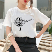 90s Graphic Rock Top Tees Female Music tree T Shirt Women Harajuku Vintage T-shirt Fashion Queen Tshirt