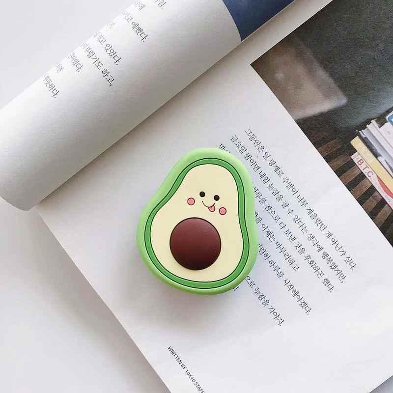 Di trasporto Del NUOVO Fumetto Rotondo Universale Del Telefono Mobile Titolare Anello Airbag Gasbag fold Del Basamento della Staffa di Montaggio Per il iPhone XR Samsung Huawei Xiaomi