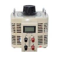 TDGC2 5kva Single Phase Digital Display Contact Voltage Regulator Variable Transformer 5000W 20A Input 220V Output 0 250V Y
