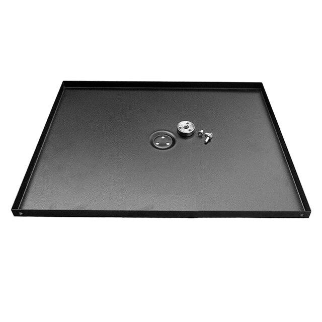 Besegad 34x24cm support de plateau universel en métal plateau support de plate-forme pour 3/8 pouces trépied projecteurs Projetor moniteurs ordinateurs portables