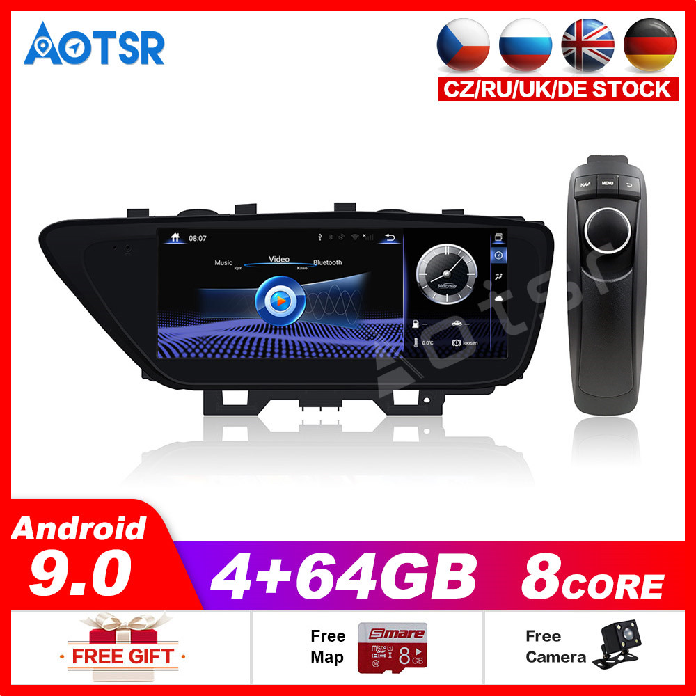 Car Multimedia Player Stereo GPS DVD Radio NAVI <font><b>Navigation</b></font> Android9 <font><b>Screen</b></font> System for Lexus ES XV60 ES250 ES300h ES350 2013~2018 image