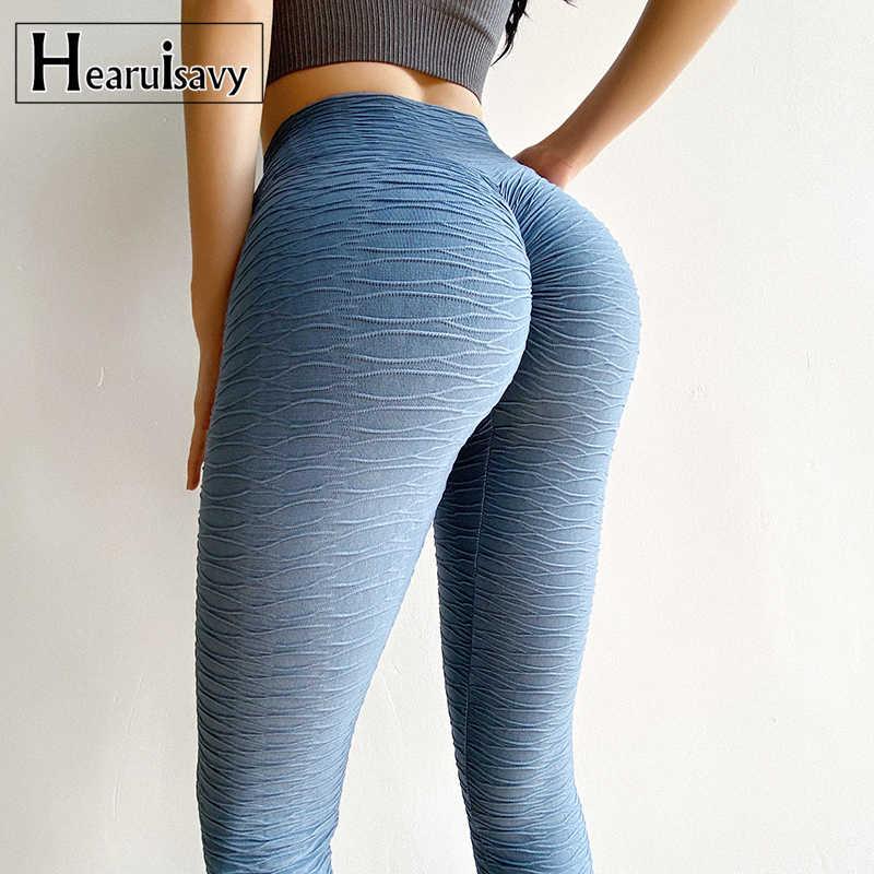 Women High Waist Yoga Pants PUSH UP Leggings Seamless Exercise Workout Trousers