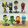 Superheroes Set of 8 Mini Figures 1