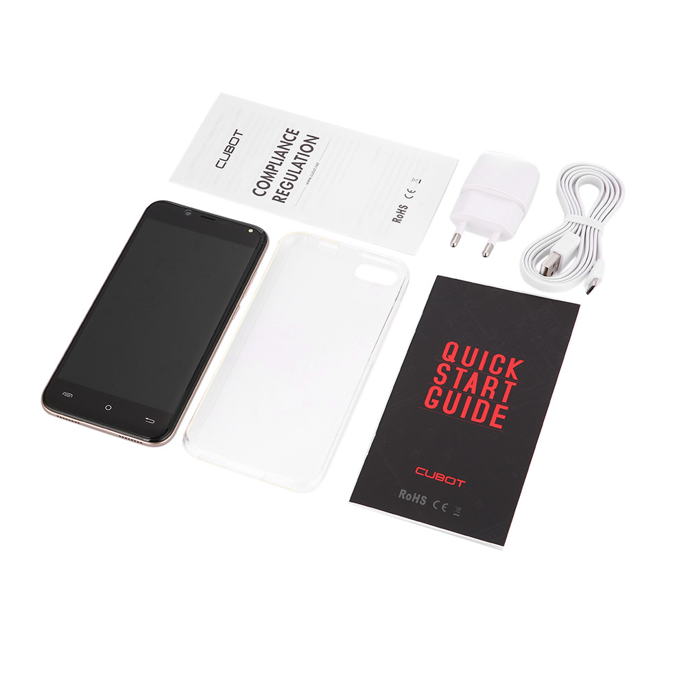 Remis à neuf CUBOT Magic 4G Smartphone Android 7.0 5.0 pouces IPS 3GB RAM 16GB ROM 13.0MP + 2.0MP corps incurvé téléphone portable - 6