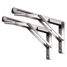 Shelf-Bracket Foldable Wall-Shelf Stainless-Steel Heavy