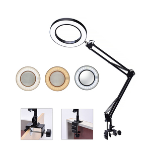 5X Illuminated Magnifier Desk