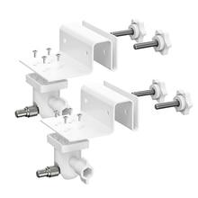 2 pakowy regulowany uchwyt do rynny do Arlo HD/Arlo Pro/Arlo Pro 2/Arlo Go/Arlo Ultra/WYZE Cam Pan/całkowicie nowy pierścień Stick Up Cam