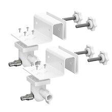 2Pack Regolabile Gutter Mount per Arlo HD/Arlo Pro/Arlo Pro2/Arlo Go/Arlo Ultra/WYZE Cam Pan/All nuovo Anello Bastone Up Cam
