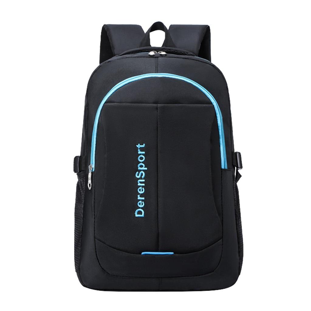 Men Women Backpack School Backpack Work Travel Shoulder Bag Teenager Backpack Gray
