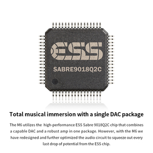 Image 2 - FiiO M6 היי Res אנדרואיד מבוסס מוסיקה נגן עם aptX HD, LDAC HiFi Bluetooth, USB אודיו/DAC,DSD תמיכה וwifi/אוויר לשחק