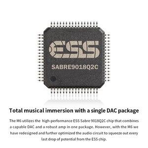 Image 2 - Fiio M6高解像度androidベースの音楽プレーヤーaptx hd、ldacハイファイbluetooth、usbオーディオ/dac、dsdサポートとwifi/エアプレイ