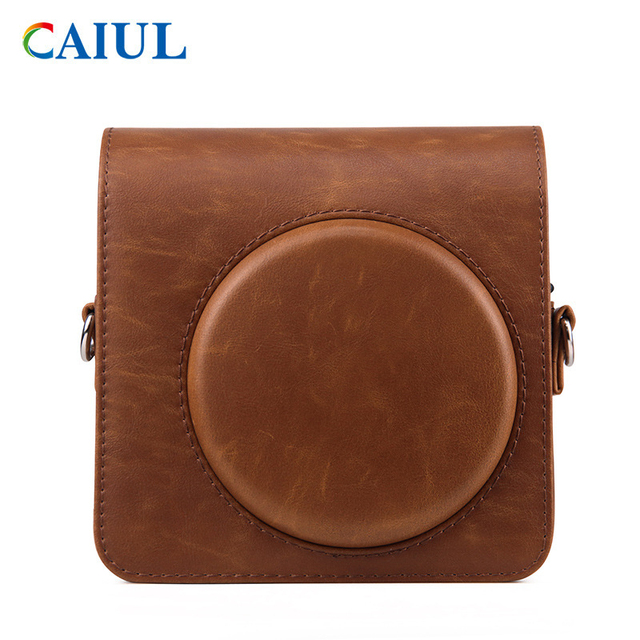 FUJIFILM Instax SQUARE SQ1 Camera Bag 4 colours Vintage PU Leather Case Shoulder Strap Pouch Carry Cover Protection 4