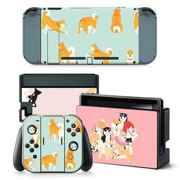 Custom Full Set Vinyl Decal Protector Skin For Nintendo Switch Console Controller Skin Sticker 2