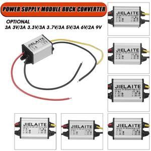 12V to 3A 3V / 3.3V / 3.7V / 5V / 6V / 2A 9V DC-DC Step-Down Module Voltage Converter Car Adapter