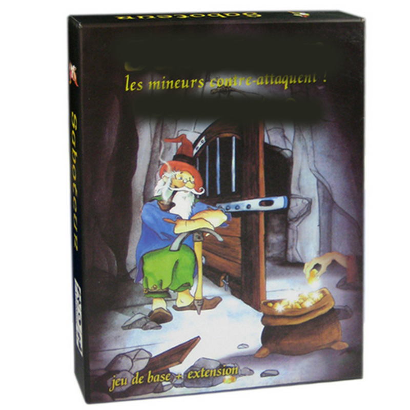 Family Board Game Saboteur Board Game 1 2 Version Saboteur1 Version Jeu De Funny Board Game With English Instructions in Board Games from Sports Entertainment