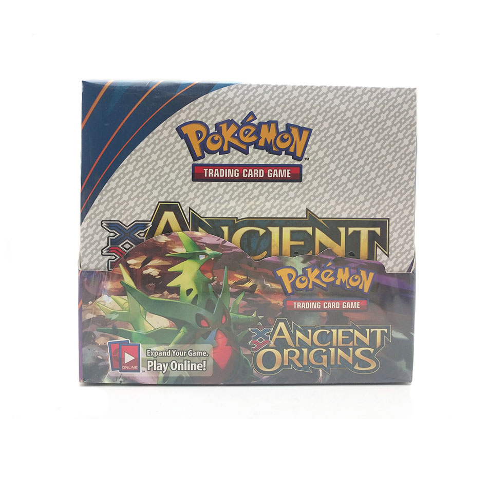 Pokemon 324PCS GX EX MEGA Cover Card 3D Version  Ancient Origins Card Collectible Gift Kids Toy
