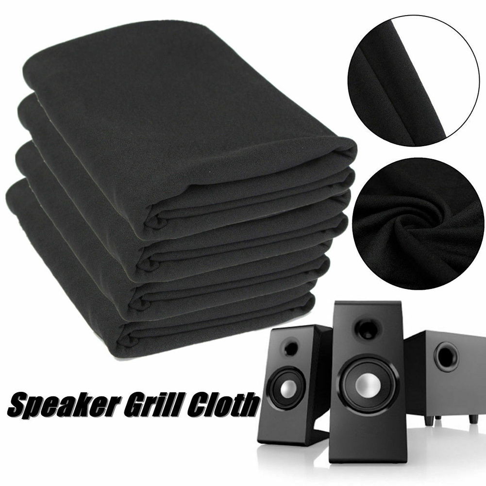 Audio Stereo Gille Fabric Sound Box Breathable Equipment Home Accessories Acoustic Speaker Mesh Cloth Dustproof Protective Radio
