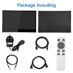 "Image 5 - Eyoyo Monitor portátil EM15C, pantalla táctil HDMI de 15,6 "", 4K, PC PS4, Xbox 3840X2160, IPS, LCD, LED, para ordenador portátil Raspberry Pi switch"