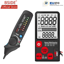 BSIDE ADMS7 Smart Digital Multimeter 3.5 LCD 3-Line Display Voltmeter with Analog Bargraph DMM AVD06 Voltage Detector Kit