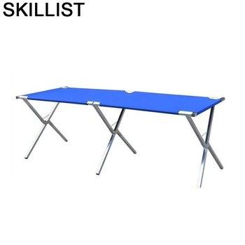 Meble-Mesa Plegable De Picnic, mueble Plegable para Patio, acampada, salón De jardín, Mesa De acampada Plegable