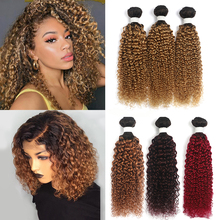 Curly Human Hair Weave Bundles