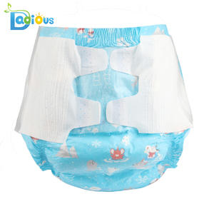 ABDL Diaper Disposable DDLG Adult Baby 6000ml Cotton Absorbency Non-Woven Large-Size