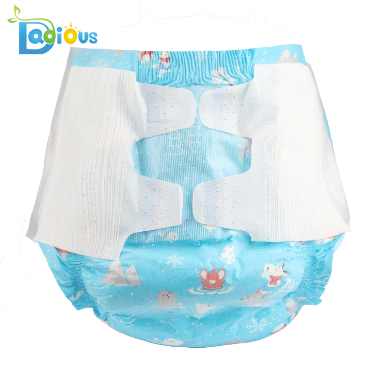 6000ml Absorbency Non Woven Cotton ABDL Diaper Adult Baby Disposable Diaper Large Size DDLG Adult Diaper Lover