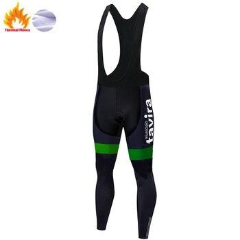 Pantalones de ciclismo para hombre, ropa térmica larga de lana para exteriores,...