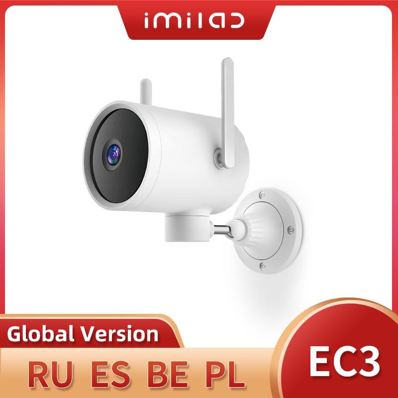 IMILAB EC3 на открытом воздухе, Wi-Fi, Камера Ip Mi умный дом безопасности Камера 2K Ночное видение Камера человека обтекание Cctv видео Камеры Скрытого ...