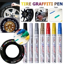 Top Grade Long Last Universal Waterproof Car Tire Tread Permanent Paint Marker Pen Graffiti Party