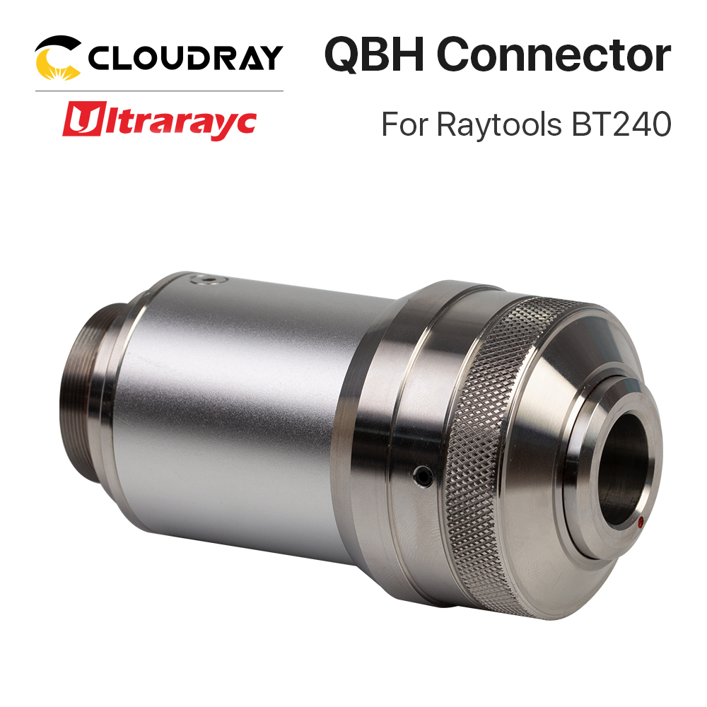 Cloudray QBH Connector for Raytools Series Laser Head BT210 240S BM109 BM111 Fiber Laser 1064nm Cutting Machine Parts