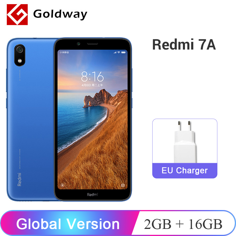 Global Version 2019 New Xiaomi Redmi 7A 7 A 2GB 16GB Smartphone 5.45