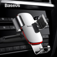 Baseus Gravity Car Phone Holder for CD Slot Mount Stand iPhone X Samsung S10 Metal Cell Mobile