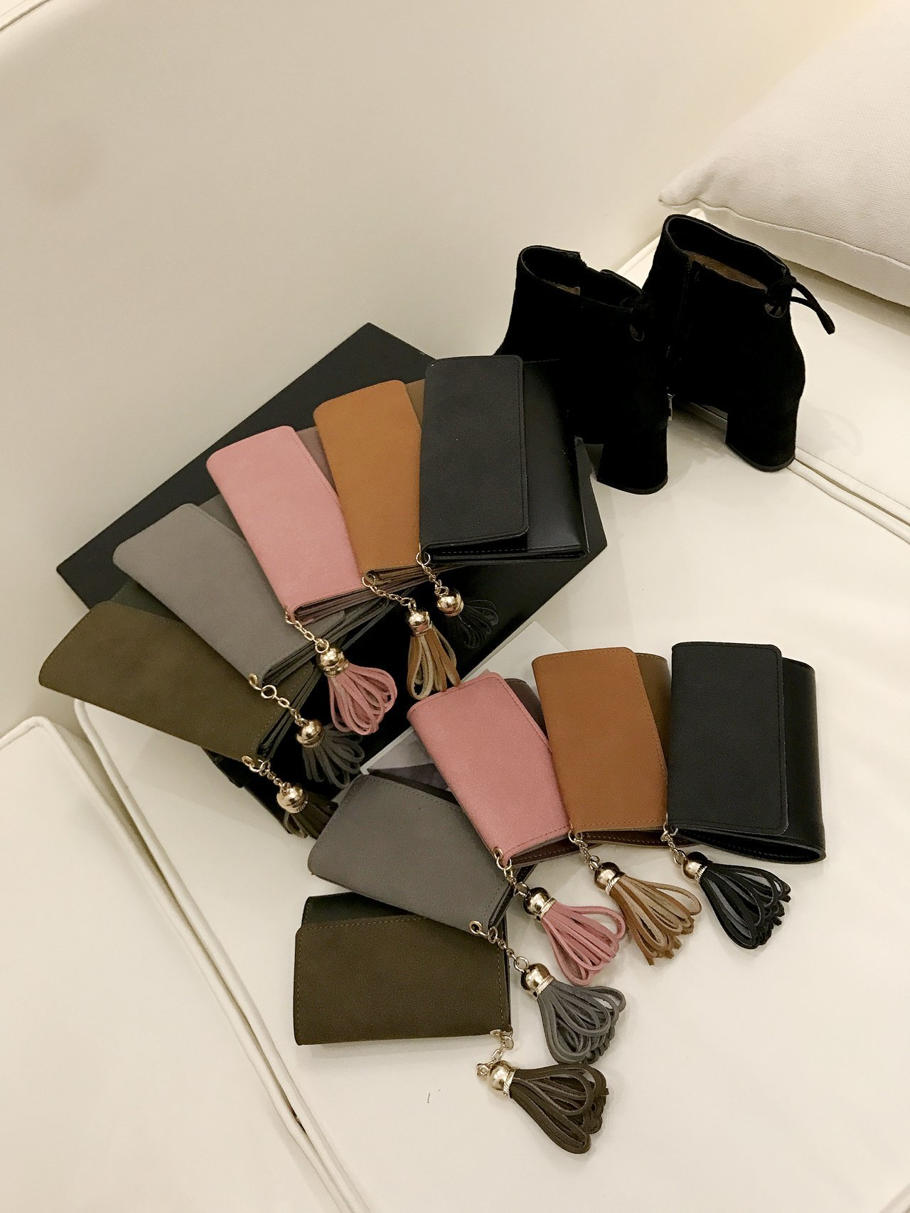 curto mini sacos de couro feminino dames portemonnee