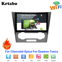 Car radio Android multimedia player For Chevrolet Epica For Daewoo Tosca Car touch screen GPS Navigation Support Carplay