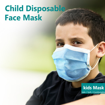 Quality packaging 10pcs/bag children mask child disposable student protection kid face mask face mouth disposable masks maskes 1