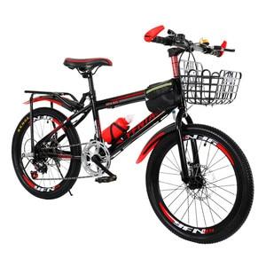 Детский горный велосипед с двойными тормозами, 18 дюймов, для фристайла, балансировка, разрыв ветра, рама для детей и студентов