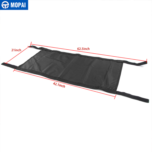 MOPAI Car Roof Cover  for Jeep Wrangler JK 2007+ Car Top Cover Accessories for Jeep Wrangler TJ JK 1987-2018 5