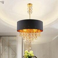 Постмодерн  атмосферный роскошный золотой круговой кольцевой подвесной светильник s для гостиной  виллы  холла  отеля  спальни  столовой  св...