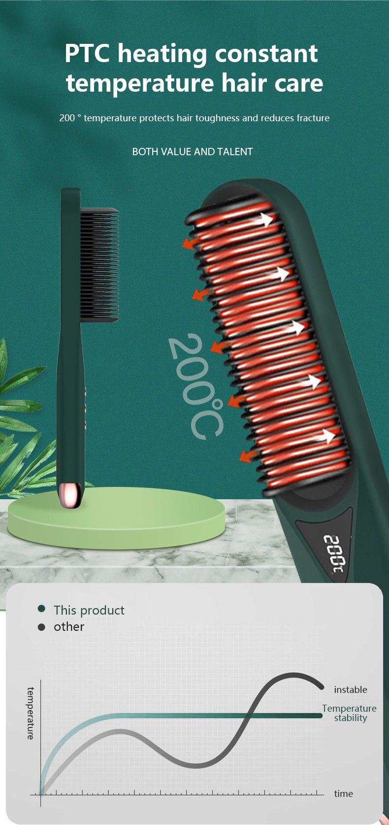 ondulação elétrica do agregado familiar alisador cabelo íon negativo alisador cabelo