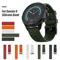 Силиконовые аксессуары для часов  ремешок на запястье  браслет для Suunto 9 и Suunto Spartan Sport Wrist HR Baro Smartwatch
